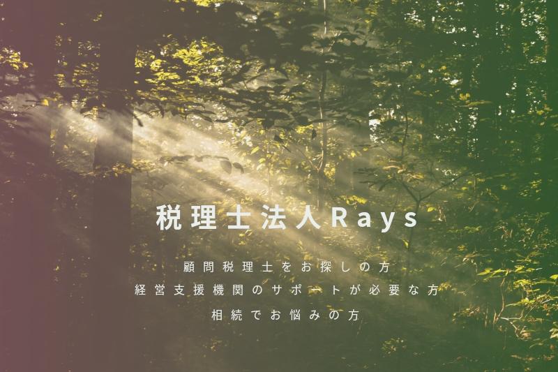 税理士法人Rays トップ画像モバイル